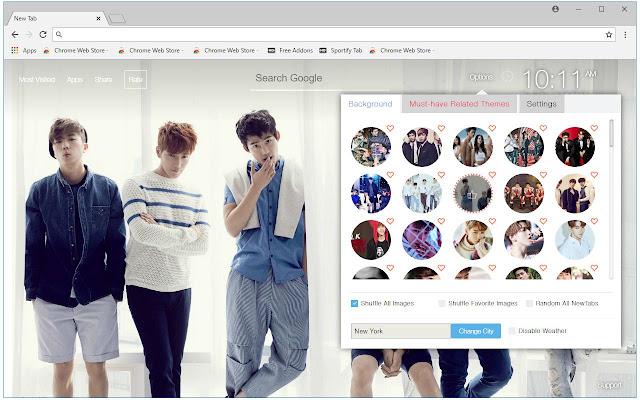 Kpop 2PM Wallpaper HD New Tab - freeaddon.com