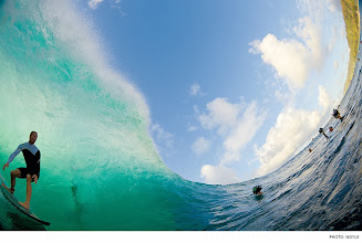 Photo: Photo of the Day: Jamie O'Brien, Pipeline. Photo: Noyle #Surfer #SurferPhotos