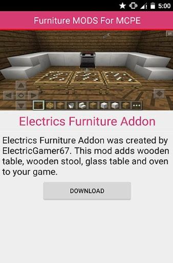 無料书籍Appの家具MODについてMCPE|記事Game