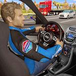 Traffic Highway Endless Car Rider Icon