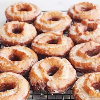 Sour Cream Cake Donuts.