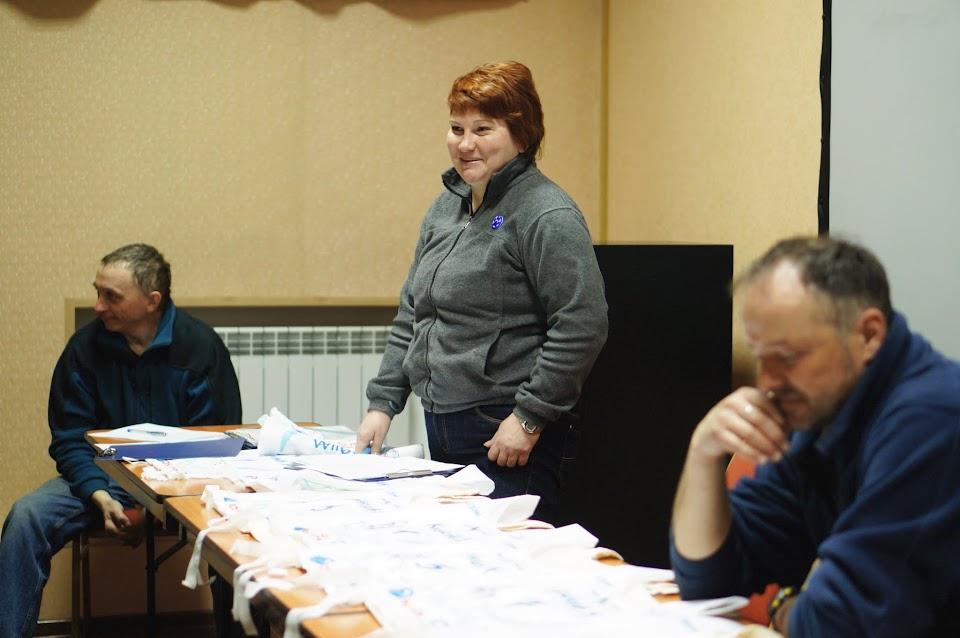 Маршал гонки Елена Литвинова