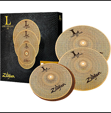 Zildjian L80 - Low Volume Cymbalset - LV468