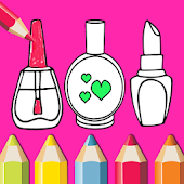 Beauty Coloring Book - Drawing  Book For Kids Icon