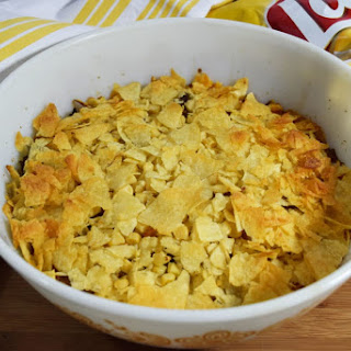 Mimi's Potato Chip Casserole.