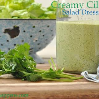 Creamy Cilantro Salad Dressing.