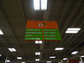 Photo: I was on a mission to find the Campbell's Skillet Sauces. I was told that they were in the same aisle as the canned pasta and broth.