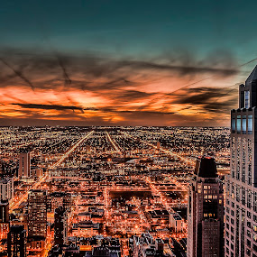 Mirror by John Harrison - Landscapes Sunsets & Sunrises ( sunset, chicago, jnhphoto )