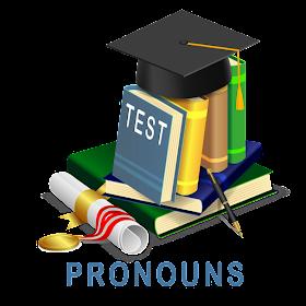Английские тесты: Местоимения