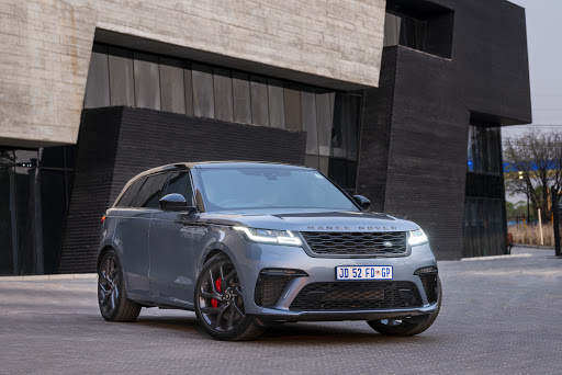 A Range Rover Velar maxed-out with more vooma