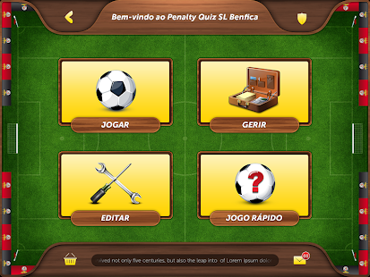 Penalty Quiz SL Benfica- screenshot thumbnail