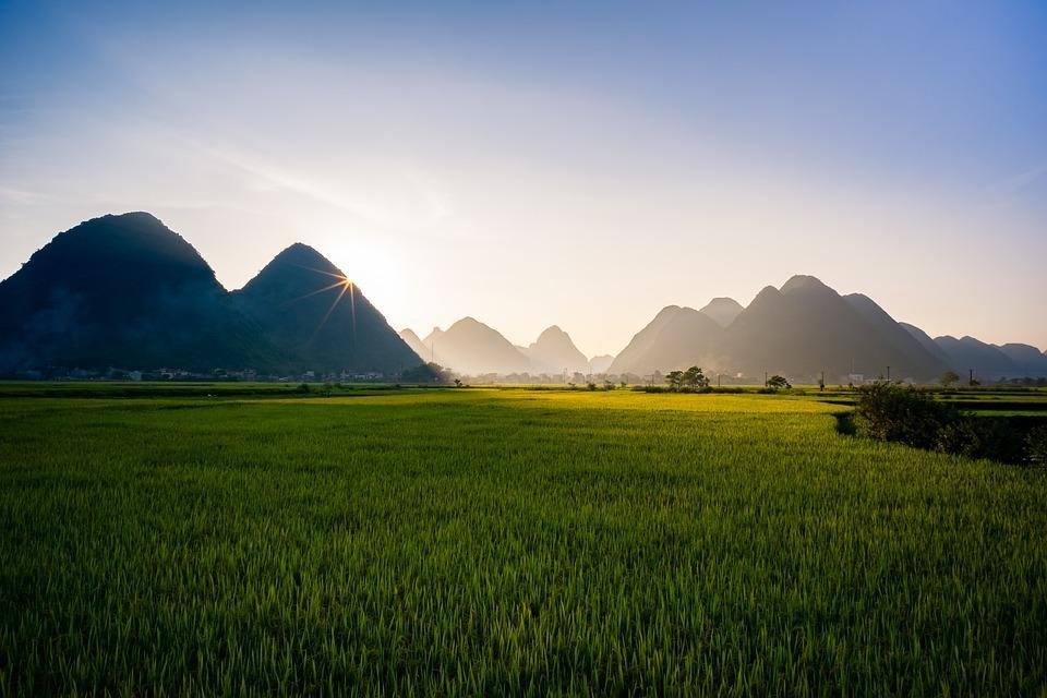 lembah bac son, vietnam