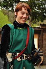 Photo: Eine Gardistin der Republik Amonlonde.