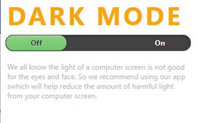 Dark Mode for Google Chrome™