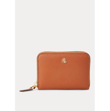 Dryden: Small Zip Wallet, tan/orange