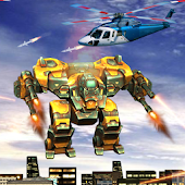 Flying Robot Battle Rescue Sim