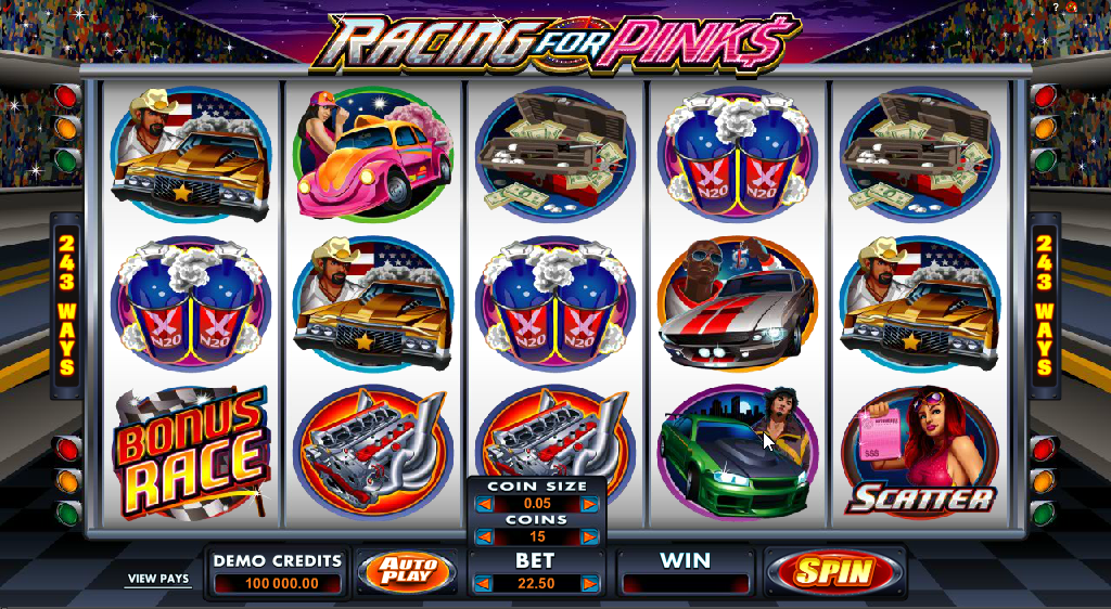 Racing for Pinks Slots Game Review