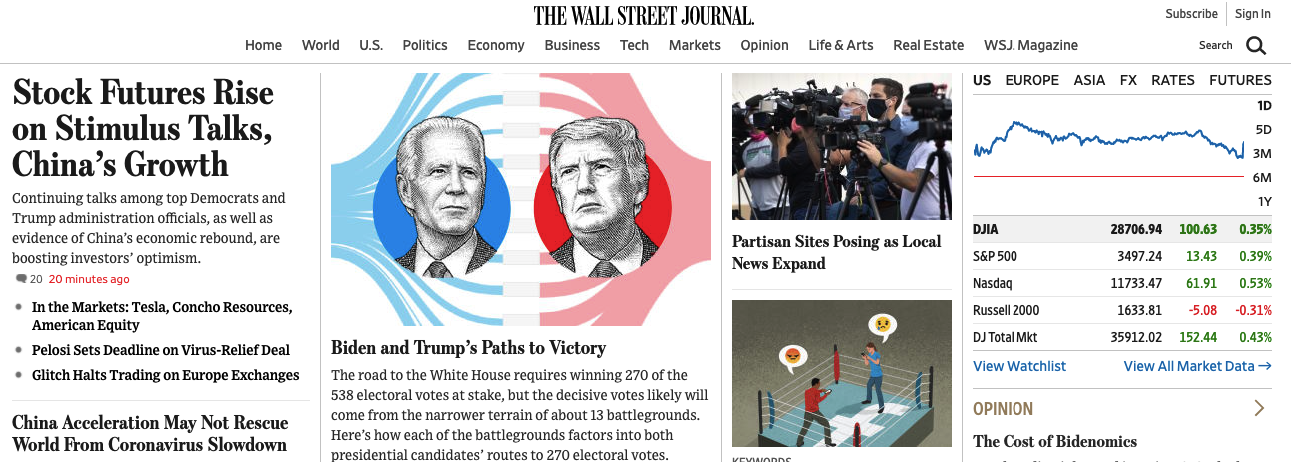 how to submit an article to wsj
