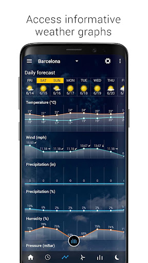 Transparent clock weather (Ad-free) screenshots 7