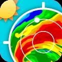 Weather Radar - Windy, rain radar & storm radar icon