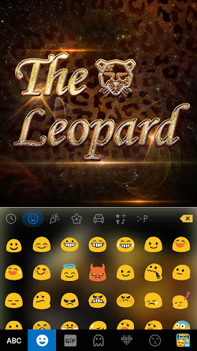 玩免費娛樂APP|下載The Leopard Kika Keyboard app不用錢|硬是要APP