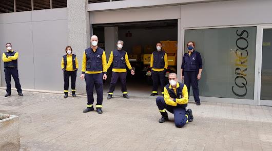 La falta de personal satura la oficina de Correos en Sierra Alhamilla