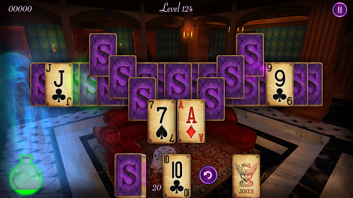 haunted mansion solitaire screenshot 1