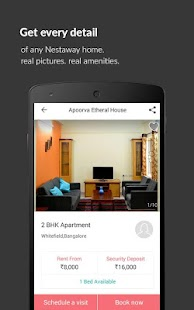 Nestaway-Rent House Flat Room- screenshot thumbnail
