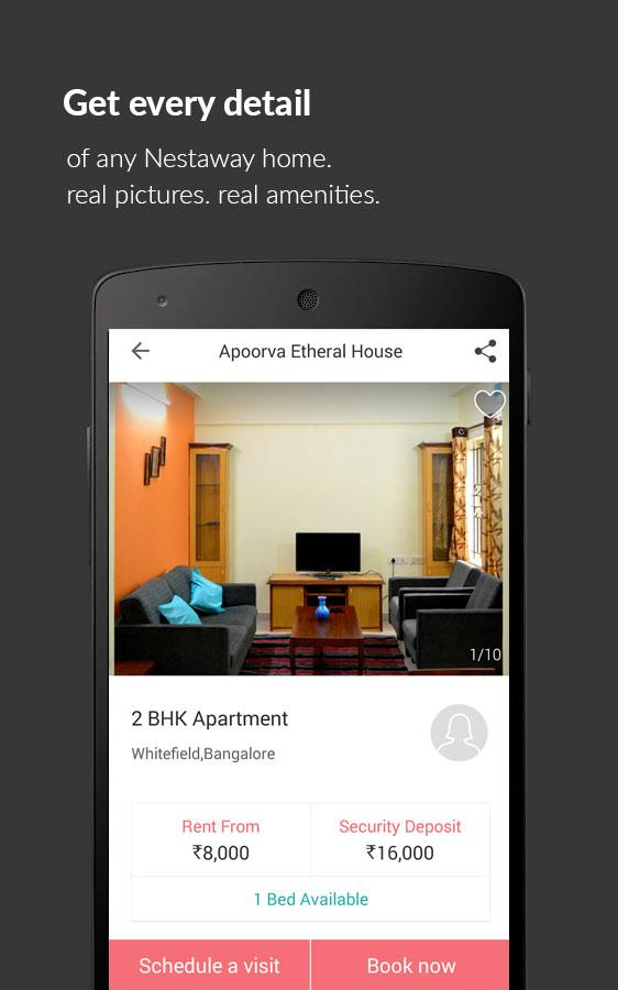 Nestaway-Rent House Flat Room- screenshot