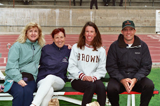 Photo: Linda Wallace, Jacqueline Hansen, Allison Baker, Dan Bell at Mt. SAC, 2009.