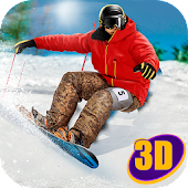 Snowboard Mountain Race
