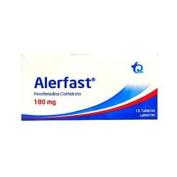 Alerfast 180Mg Tabletas