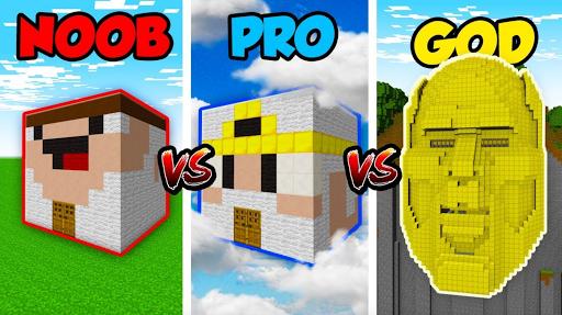 Noob vs Pro vs Hacker Videos ss1