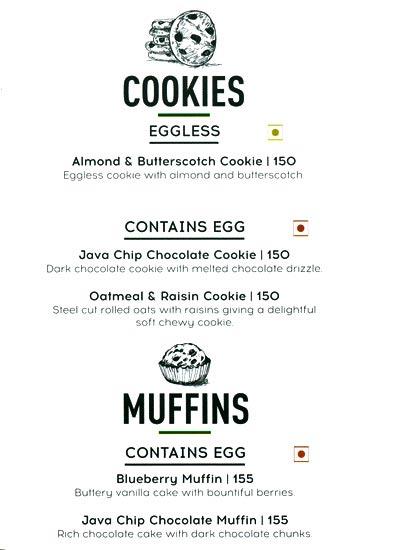 Starbucks menu 9
