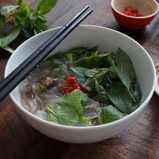 Homemade Vietnamese Beef Pho