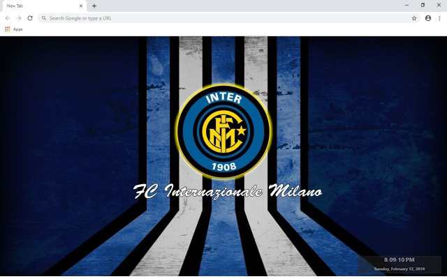 Inter Milan New Tab & Wallpapers Collection