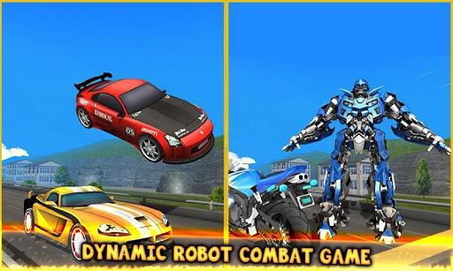 Code Triche Jeux de combat robot transformateur: jeux de robot APK MOD (Astuce) screenshots 4