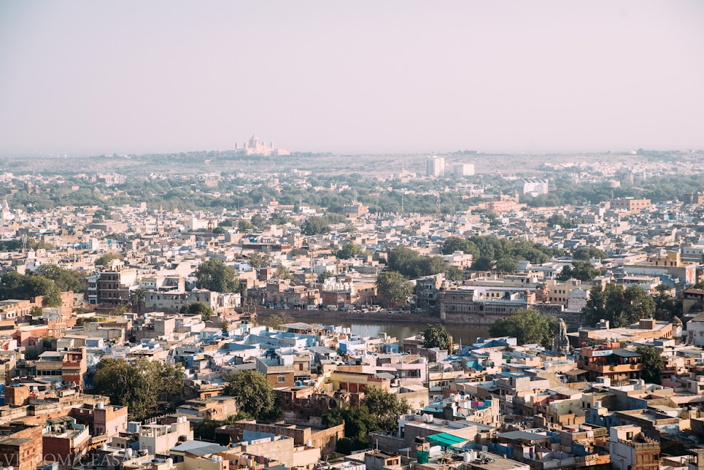 Вид с крепости Мехрангарх (Meherangarh) , Джодхпур