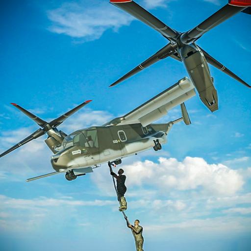 US Army Transport Game – Osprey Flight Simulator