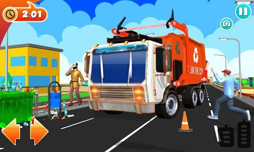 Urban Garbage Truck Driving - Waste Transporter 1 screenshots 7