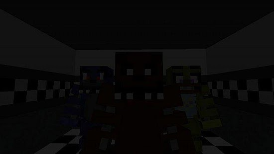 Mod Freddy for Minecraft - náhled