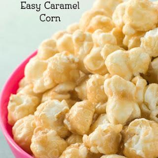 Karo Syrup's Easy Caramel Popcorn