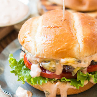 All American Burger and Perfect Burger Sauce Recipe