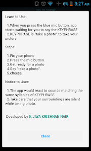 Voice Camera – Voice Camera is a Simple Camera Application