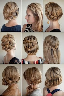 Cute Hairstyles Girls - náhled