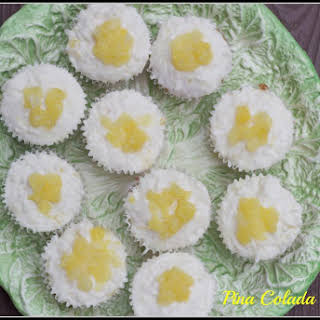 Pina Colada Cupcakes and Coconut Buttercream Frosting #SundaySupper.