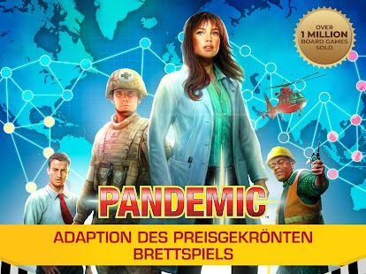Pandemic: The Board Game Screenshot