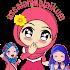 WA Sticker Muslimah Islamic Sticker Cute