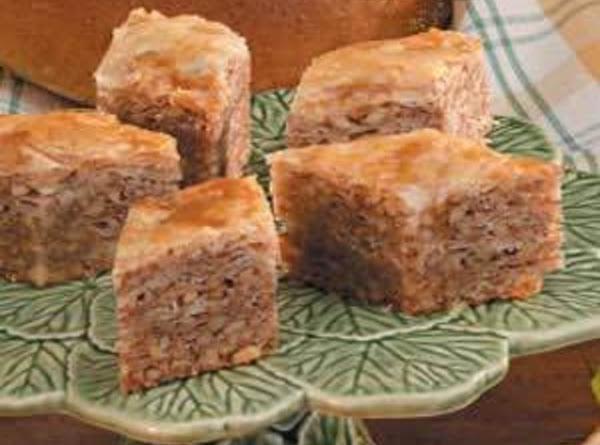 Flaky Walnut Baklava Recipe