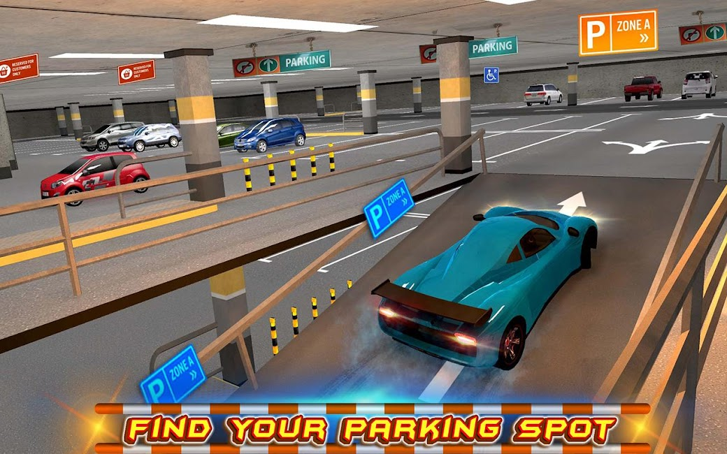 #6. Multi-storey Car Parking 3D (Android)